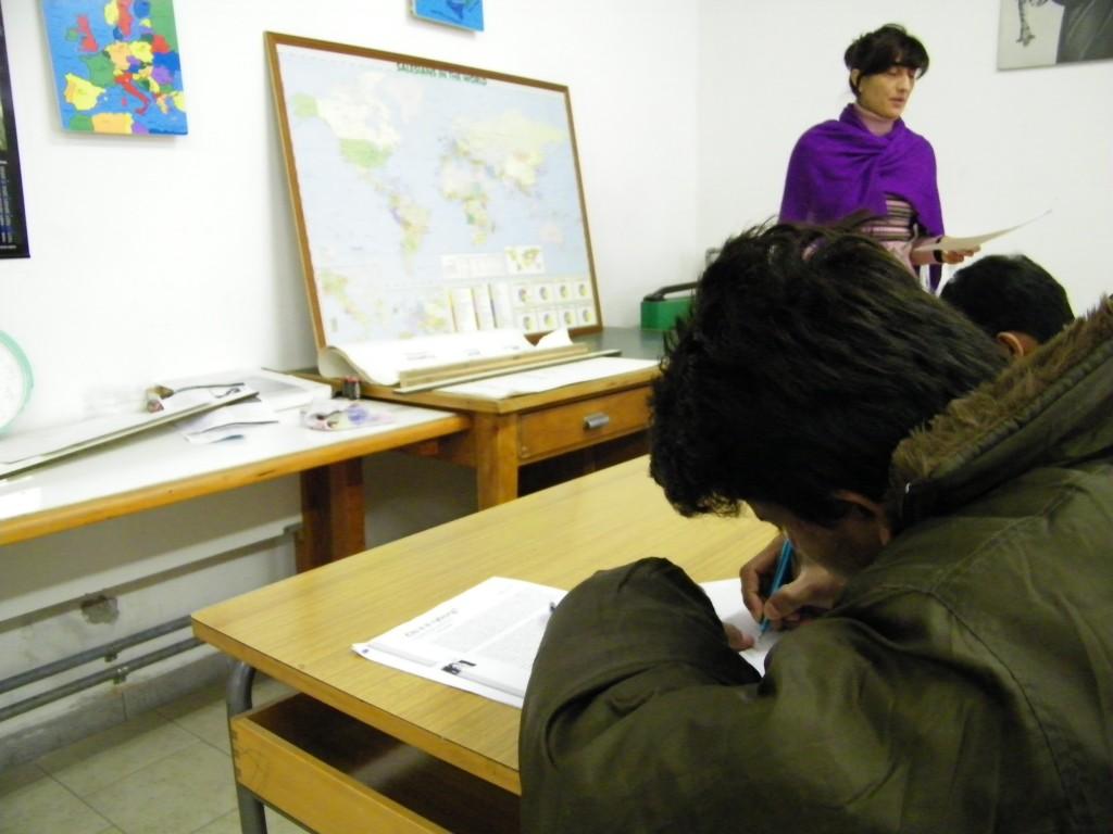 Area linguistica: lezione della prof. Venuti
