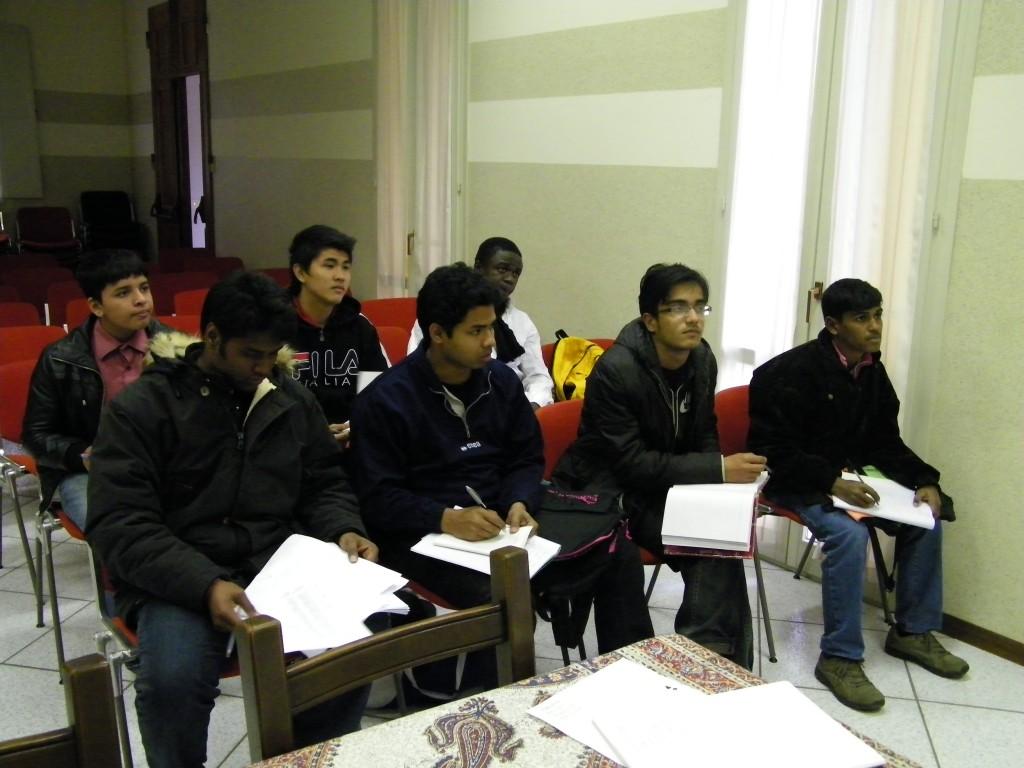 I ragazzi stranieri appena arrivati in Italia